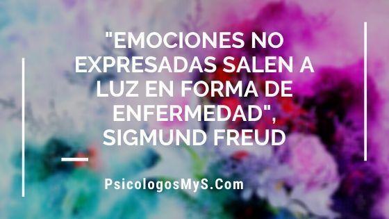 Emociones no expresadas salen a luz en forma de enfermedad