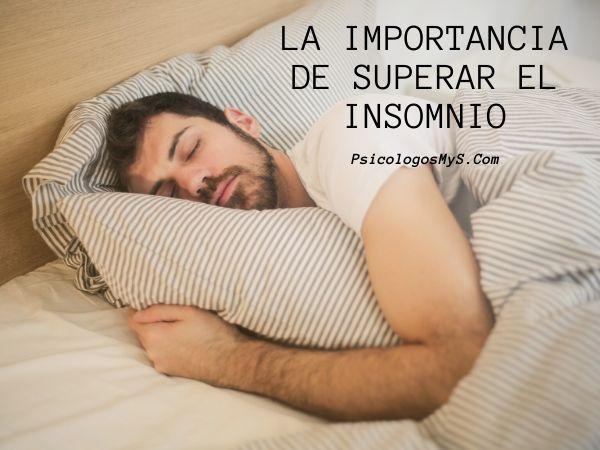 Superar insomnio