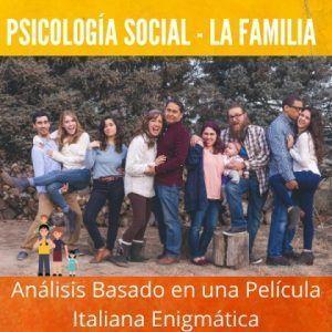 La Familia Psicología Social