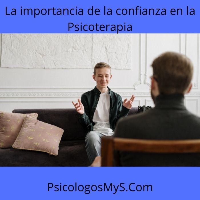 La importancia de la confianza en la Psicoterapia